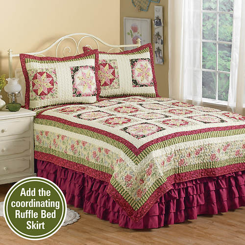 Serenade Star Pieced Quilt