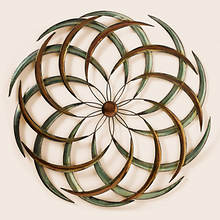 Geometric Metal Wall Art
