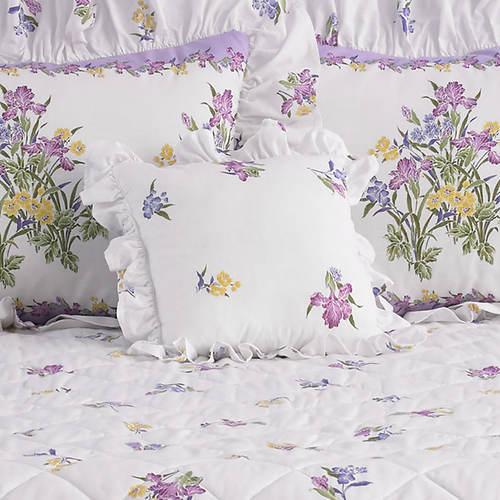 Iris Garden Pillow