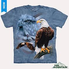 North American Natural Tees - Eagle