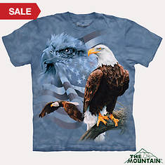 North American Natural Tees - Eagle