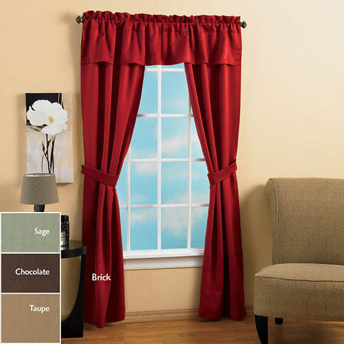 5-Pc. Spencer Room Darkening Set