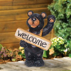 Smart Solar Welcome Bear Light