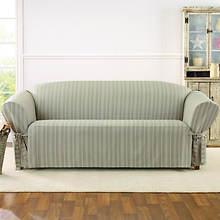 Sure Fit Grain Sack Slipcover - Sofa - Linen