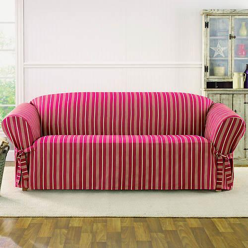 Sure Fit Grain Sack Slipcover - Sofa