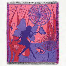 Double Woven Throw - Fairy