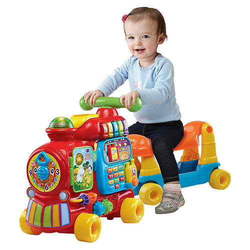 Vtech Sit To Stand Ultimate Alphabet Train Stoneberry