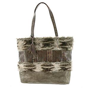 Steven by Steve Madden Aspin Syn Fur Tote Bag