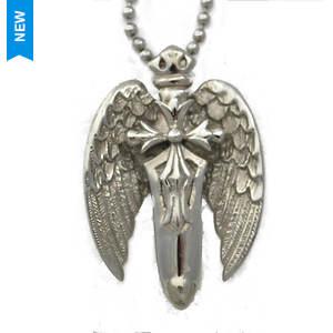 Sword/Wings/Cross Pendant
