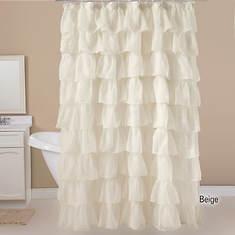 Betty Shower Curtain - Beige