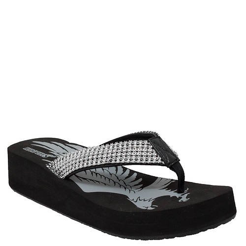 Ride Tecs Thong Jeweled Wedge (Women's)