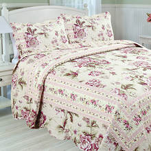 Vintage Blossom Quilt Set
