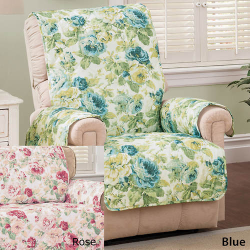 English Floral Furniture Protector - Chair