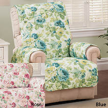 English Floral Furniture Protector - Recliner - Rose