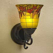 Anywhere LED Sconce - Stained Glass