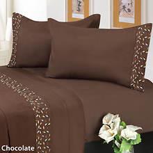 Veranda Sheet Set - Chocolate