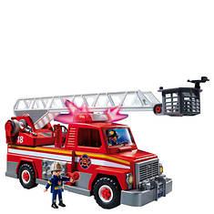 Playmobil School Bus Or Rescue Ladder Unit Vehicle Set