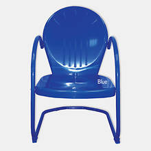 Retro Tulip Chair - Blue