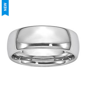 Polished Wide Band Ring