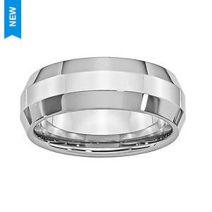 Polished Wide Bevel Edge Ring