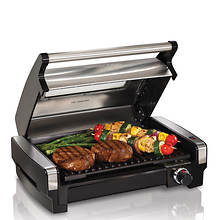Hamilton Beach Searing Grill with Glass Lid