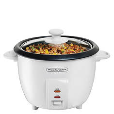 Proctor Silex 10-Cup Rice Cooker with Glass Lid