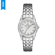 Bulova Silver Dial Bracelet Watch