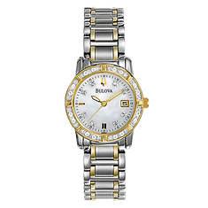 Bulova Ladies Diamond Bracelet Watch