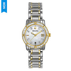 Bulova Ladies Diamond Bracelet Watch
