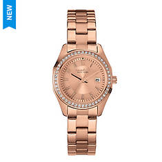 Caravelle New York Bracelet Watch with Crystals
