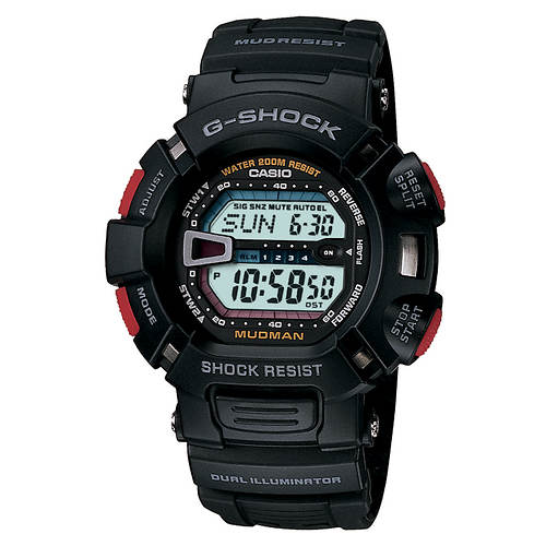 Casio G-Shock Mud- and Shock-Resistant Watch