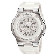 Casio Baby G White Ana-Digi Watch