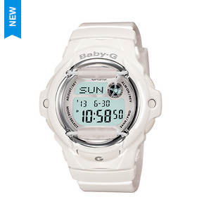 Baby G Gloss White Jelly Watch