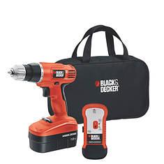 Black & Decker 18V Cordless Drill/Stud Sensor
