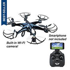 SkyRider Eagle 6-Rotor Wi-Fi Camera Drone