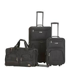 Rockland 3-Piece Luggage Set