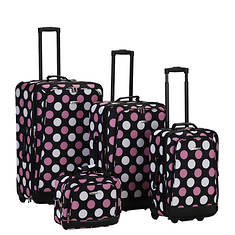 Rockland 4-Piece Design Luggage Set