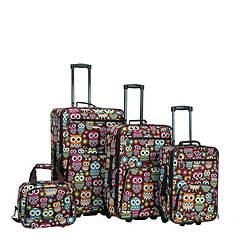 Rockland 4-Piece Design Luggage Set