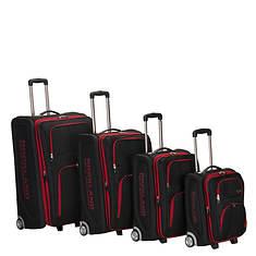 Rockland 4-Piece Polo Luggage Set