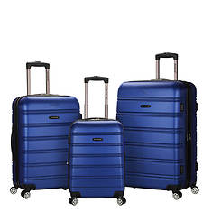 Rockland Melbourne 3-Piece Luggage Set