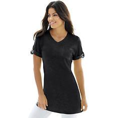Women's Rolled-Sleeve Tunic