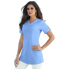 fde6ce27723 Women s Rolled-Sleeve Tunic