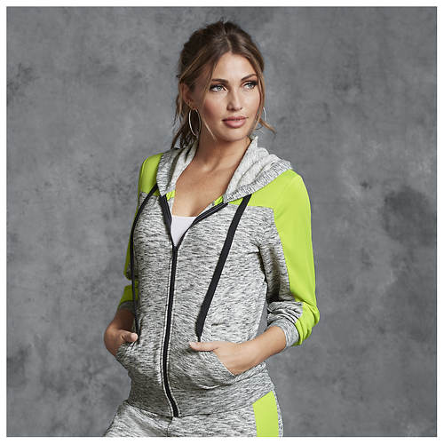 1f73983804a42b Marled Colorblock Hoodie - Color Out of Stock