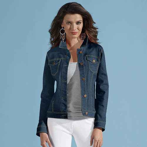 Women's Colored Jean Jacket