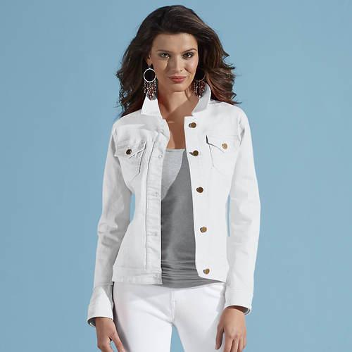 Women's Colored Jean Jacket