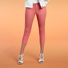 Women's Colored Jean Capris