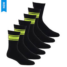 Under Armour Kids 6-Pack Charged Cotton 2.0 Crew Socks
