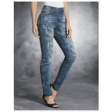 Faded Camo Skinny Jeans