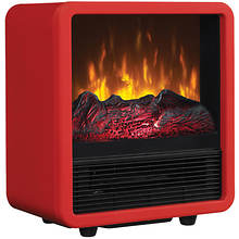 Infrared Electric Space Heater - Red