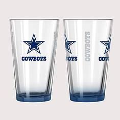 NFL Elite Pint Set - Cowboys